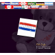 "Teddy ""Flagge Paraguay"""