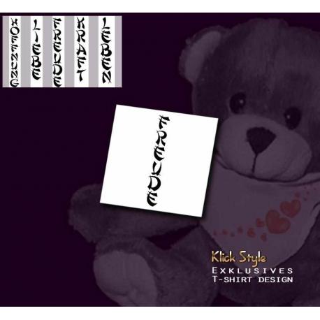 """Teddy Text """"Freude"""""""