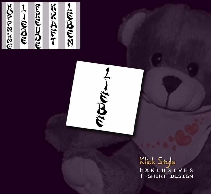 "Plüschtier - Text ""Freude, Liebe, Hoffnung, Leben, u.a."" : Text:Liebe, Wähle Ihr Plüschtier:Bär, hellbrauwn, 16cm"