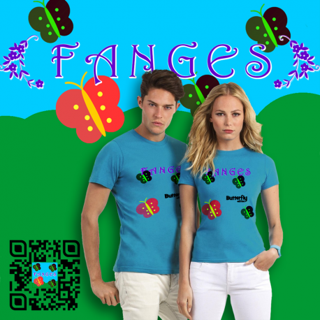 T-Shirt Fanges Butterfly Edition