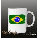 """Tasse """"Splash-Flag Brasilien 2"""""""