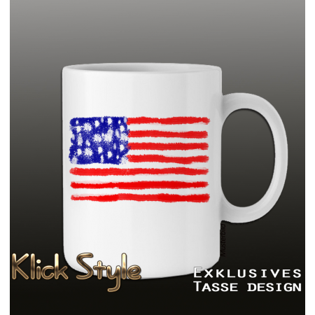 "Tasse ""Splash-Flag USA"""