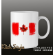 Tasse Splash-Flag Kanada