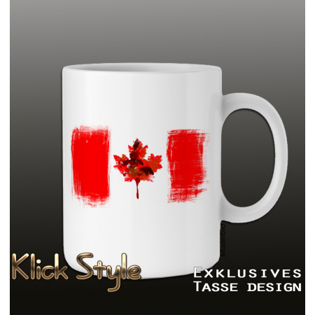 "Tasse ""Splash-Flag Kanada"""