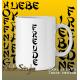 """Tasse Text """"Kraft / Liebe / Freude / Hoffnung / Leben"""""""