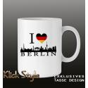 """Tasse """"Ich liebe Berlin"""""""