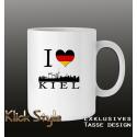 """Tasse """"Ich liebe Kiel"""""""