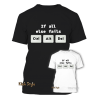 "T-Shirt ""If all else fails CTRL ALT DEL"""