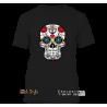 "T-Shirt ""La Catrina"" Schädel (Schwarz)"