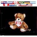 """Plüschtier - Teddy """"Flagge [Diverse Länder]"""""""