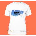 """T-Shirt """"Splash Karte Brasilien"""""""