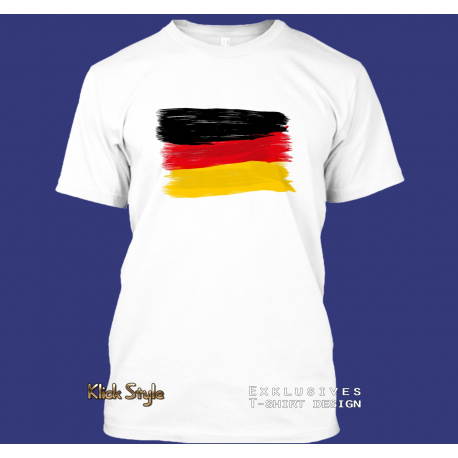 "T-Shirt ""Splash-Flag Deutschland"""