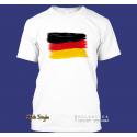 """T-Shirt """"Splash-Flag Deutschland"""""""