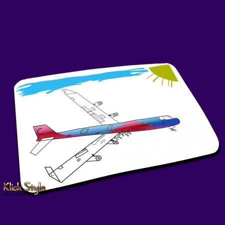 """Mousepad """"Kinder Design"""" mit nachgearbeiteter Kinder-Kunst"""