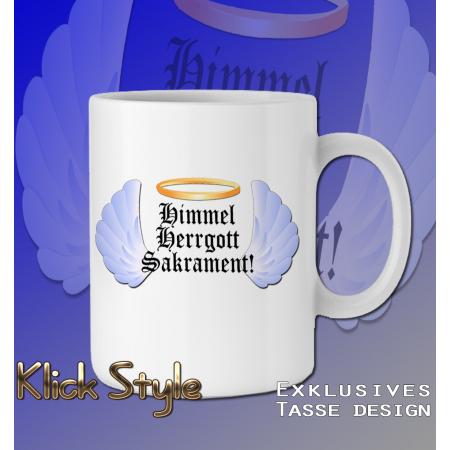 """Tasse """"Himmel, Herrgott, Sakrament"""""""