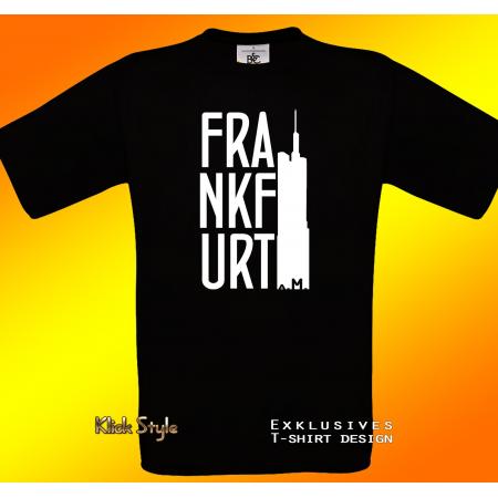 """T-Shirt """"Frankfurt a.M."""""""