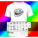 """T-Shirt """"Memes"""" (Diverse Memes, weiß)"""