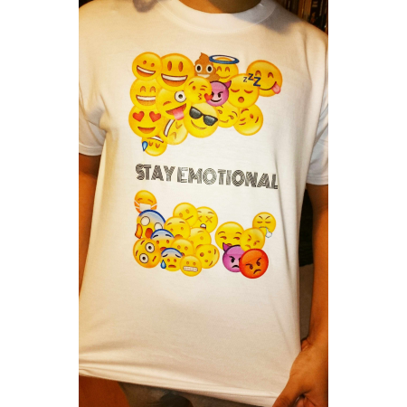 "T-Shirt ""Stay Emotional"""