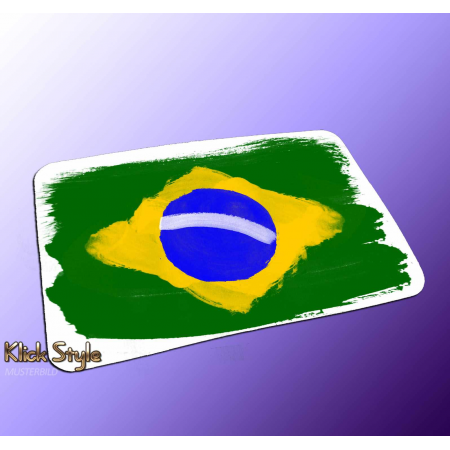 "Mousepad ""Splash-Flag Brasilien 2"""