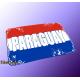 """Mousepad Wort auf Flagge """"Paraguay"""""""