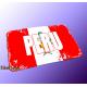 "Mousepad Wort auf Flagge ""Peru"""