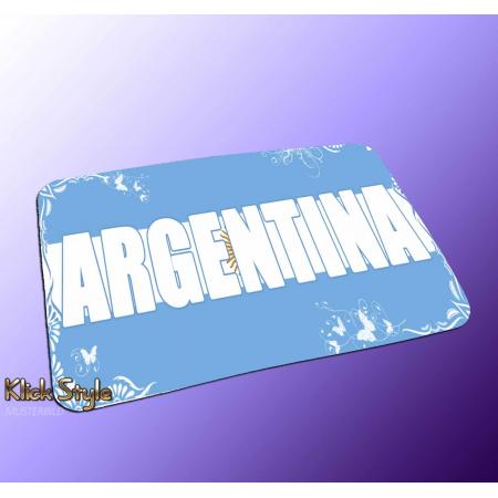 "Mousepad Wort auf Flagge ""Argentina"""