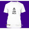 """T-Shirt """"Ich liebe mich"""" - weiß"""