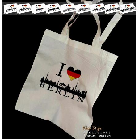 """Stoffbeutel """"Ich liebe Berlin"""""""