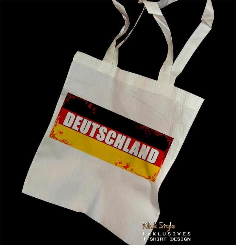 Stoffbeutel Flagge [Diverse Länder] : Länder:Deutschland